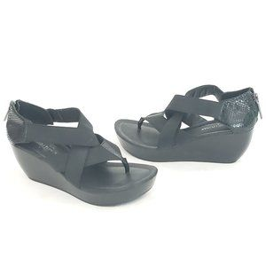 "☮ Donald J Pliner wedge ""CHEA"" sandals - size 7 🖤"